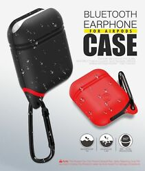 Water Resistant Shockproof Protect Cover Case for Apple AirPods Charging Case $4.79