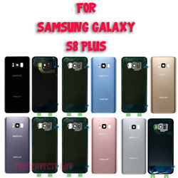 OEM Battery Cover Glass Housing Rear Back Door Lens For Samsung Galaxy S8 Plus $8.89