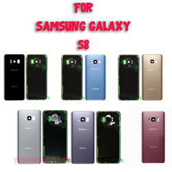 OEM Battery Cover Glass Housing Rear Back Door Lens For Samsung Galaxy S8 G950 $8.79