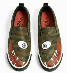 PRINTED SNEAKERS BOYS 12 7.2 INCHES $19.00