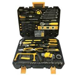 198 PCS Hand Tool Set Mechanics Kit Wrench Socket Household Repair Tools w Case $53.99