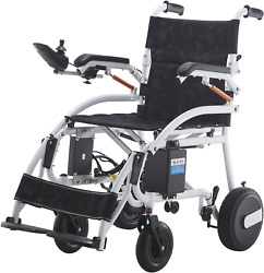 Durable Foldable Electric Wheelchair Heavy Duty Mobility Chair Power Wheelchair $1,099.00