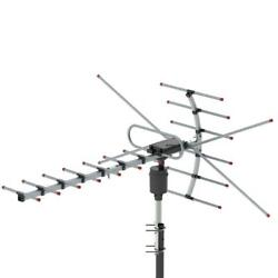 Leadzm 1080P 150Mile Outdoor Amplified HD TV Antenna Install free 22dB UHF VHF $14.49
