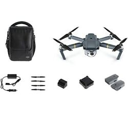 DJI Mavic Pro Fly More Combo: Foldable Propeller Quadcopter Drone Kit with Remo $1,237.00