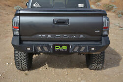 Tacoma 2016-2019 Rear Bumper (All Models)  Offroad Steel D-Rings
