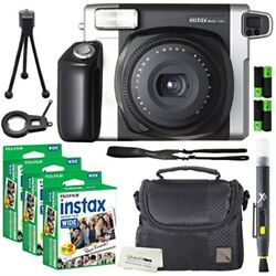Fujifilm Instax Wide 300 Instant Film Camera + instax Wide Instant Film 60 She