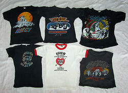 VINTAGE 1970`S K-SHE 95 & CLASSIC ROCK CONCERT T-SHIRT COLLECTION