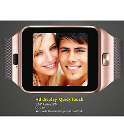 Bluetooth Smart Wirst Watch TF SIM Card For Android Samsung S7 S6 Edge LG G3 G4