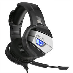 ONIKUMA K5 Stereo Gaming Headset Portable Headphones With Mic USB + 3.5mm Jack