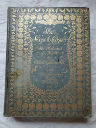 SHE STOOPS TO CONQUER BY OLIVER GOLDSMITH. ILLUSTRATED BY HUGH THOMSON. 1912