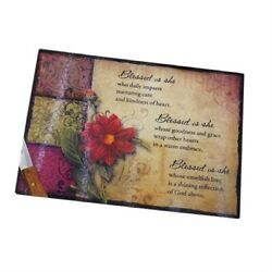Blessed Is She Cutting Board - Kitchen & Dining