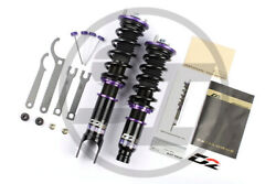 D2 RACING COILOVERS FOR BMW 5 SERIES SEDAN E60 2004-2010 RWD 36 WAY ADJUSTABLE