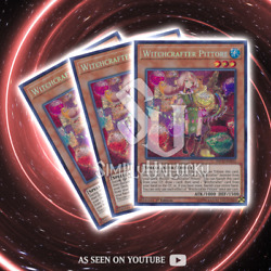 WITCHCRAFTER PITTORE x3  Secret Rare  INCH-EN015 The Infinity Chasers YuGiOh