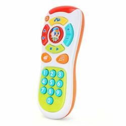 Zooawa Baby Kids Cartoon Music Early Learning Toy Remote Control Cell Phone Gift $12.99