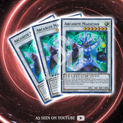 ARCANITE MAGICIAN x3  Super Rare  INCH-EN049 The Infinity Chasers YuGiOh