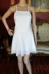 NWT Oops Girl White Maxi Grecian Summer Beach Dress Size M-L