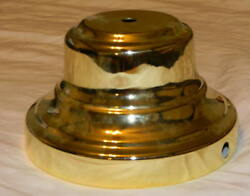 BRAND NEW BRASS COLORED LAMP BASE WHOLESALE LAMP PARTS FREE SHIPPING $7.50