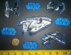 New Cool Star Wars IRON ONS FABRIC APPLIQUES IRON ONS $3.95