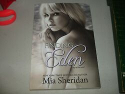Finding Eden by Mia Sheridan (Paperback 2014) Brand New Rare