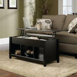 Lift Top Coffee Table Modern Furniture wHidden Storage Compartment