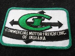 Commercial Motor Freight Inc of Indiana Vintage Trucking  Patch  $15.00