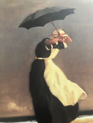 Jack Vettriano: The Singing Butler (1996)  Portland Gallery Poster