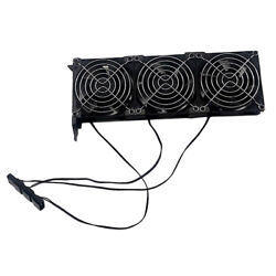 PCIe 3 Fan GPU Cooler Computer Chassis Video Graphics Card Cooling Fans 90mm $18.34