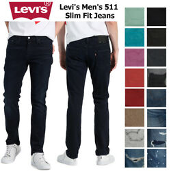 Levi#x27;s Men#x27;s Denim 511 Slim Fit Jeans $44.82