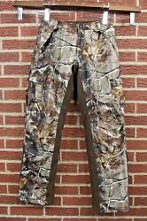 Realtree She APHD PANTS Womens Small 6-8 Camouflage Cargo Insulated Hunting