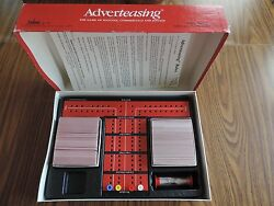 1988 ADVERTEASING THE BOARD GAME OF SLOGANS COMMERCIALS & JINGLES BY CADACO $14.69
