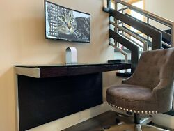 Wall Mount Floating Computer Desk Sequel 6004 Wall Desk-Expresso (PICK up Only) $999.00