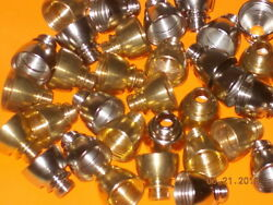Tobacco Pipe parts amp; accessories 1 Standard Metal Bowl Brass 5 8quot; $1.50