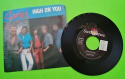 1984 SURVIVOR High On You  Everlasting ORIGINAL SLEEVE Xlnt