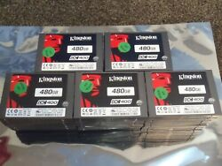 Lot of 50 Kingston DC400 480GB SEDC400S37480G 2.5'' SATA Solid State Drive SSD
