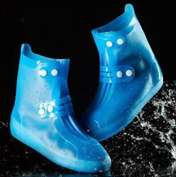 Womens Mid Calf Rain Boots Non-slip Traveling Waterproof Girls Solid Thick Ske15 $7.55