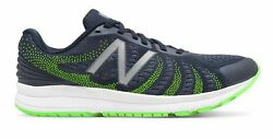 New Balance Male Men's Fuelcore Rush V3 Mens Running Shoes Navy With Green