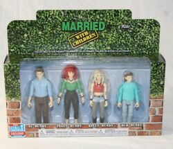 FUNKO Married With Children Action Figures 4 Pack 2018 NYCC Exclusive Sealed New