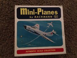 MIG 19 Airplane Vintage Bachmann Mini Planes Model original box $45.00
