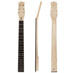 Guitar Neck 22 Frets for Electric Acoustic Guitar Parts Replacement Bolt On $33.99