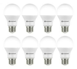 EcoSmart 60-Watt Equivalent A19 LED Light Bulb Daylight (8-Pack) $14.99