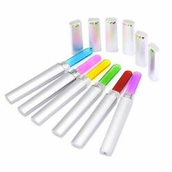 6 Pcs Double Sided Crystal Glass Nail Files Manicure Finger Pedicure File US $8.49