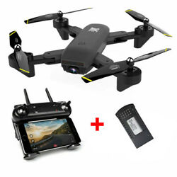 2021 New DM107 Drone Selfie FPV WIFI HD Camera Foldable Aircraft Quadcopter Toys $58.99