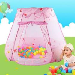 Portable Princess Castle Ball Play House Indoor Outdoor Kids Play Tent for Girls