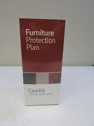 Furniture Protection Plan Care Kit Leather Fabric Wood New Refresher Polish