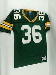 Vintage LeRoy Butler #36 Green Bay Packers Champion Jersey Mens Size 40