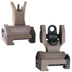 Troy Flip-Up Battle Sight, Tan $89.99