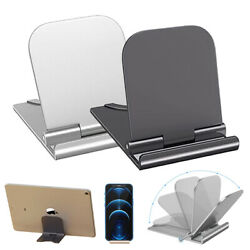 Universal Foldable Cell Phone Desk Stand Holder Mount Cradle For Phone Tablet $11.11