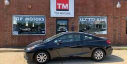 2012 Honda Civic LX 2dr Coupe 5A Black Honda Civic with 84072 Miles available now!