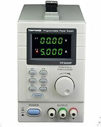 Tekpower TP3005P Programmable Variable DC Power Supply 0 30V at 0 5A $119.99