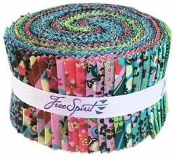 Amy Butler Natural Beauty Jelly Roll 40 die cut 2.5 inch strips Classic prints